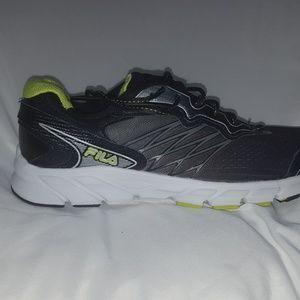 1dda7fa03d57 Fila Shoes - Fila Indus Mens Sneakers 12 CoolMax Black Shoes